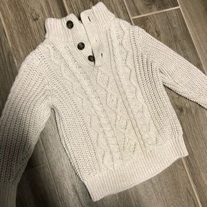 GAP Toddler Boys Size 3 Soft Cable Sweater